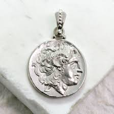 necklace coin images Alexander the great ancient greek coin necklace jpg