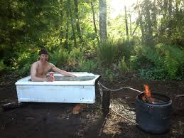 outdoor bathtub 21 best cast iron tub outdoor images on pinterest outdoor