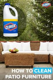 How To Clean Patio Furniture by Best 25 Cleaning Patio Furniture Ideas On Pinterest Deck