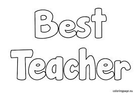 u0027s teacher coloring pages