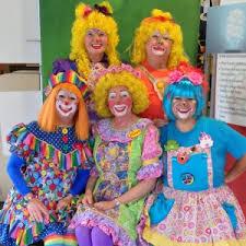 hire petals the clown and friends clown in riverside california