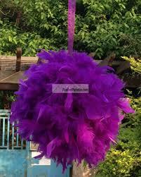 Pom Pom Decorations Feather Kissing Balls Pom Poms Chandelle Feather Balls