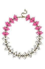 pink collar necklace images Women 39 s baublebar 39 botanica 39 crystal from nordstrom jpg