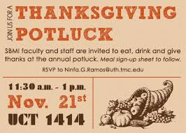 office thanksgiving potluck invitation wording all the best