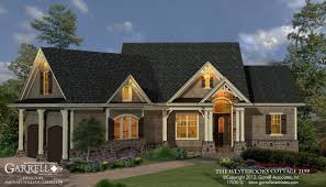 Craftsman Style Homes Plans Westbrooks Cottage 2139 House Plans By Garrell Associates Inc