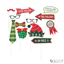 party city halloween photo props ugly christmas sweaters accessories u0026 ideas oriental trading