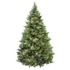 home accents 7 5 ft pre lit dunhill fir hinged artificial
