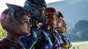 the power rangers get shiny in their new movie poster and more