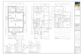 typical house plan set arts