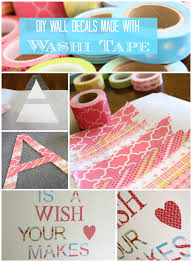 diy washi tape wall decals super easy u0026 adorable designer trapped
