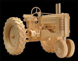 Woodworking Plans For Toy Barn by Click Here For More Wooden Toys Farm Tractor Wood Plans Finished