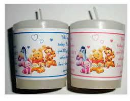 winnie the pooh baby shower favors 14 winnie the pooh baby shower favors votive candle labels ebay