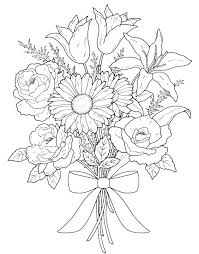 coloring pictures of flowers to print intricate flower coloring pages intricate flower coloring pages