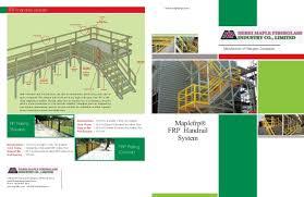 Fiberglass Handrail Fiberglass Handrail