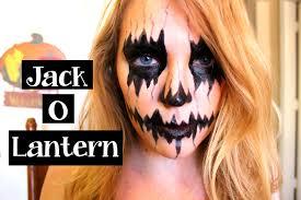 jack o lantern makeup tutorial youtube
