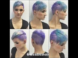coloring pixie haircut amazing haircut and color by wesdoeshair youtube