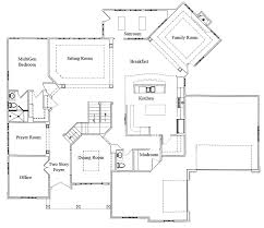 Floor Plans With Two Master Bedrooms Multigenerational Home Plan U2013 Two Master Bedrooms U2013 Stanton Homes