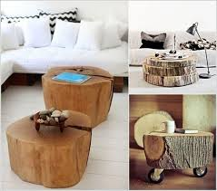 creative wood creative wood log crafts for your home decoration lifestyle interest