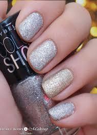 maybelline glitter mania nail polish dazzling diva u0026 all that
