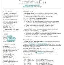 latex resume template software engineer resume examples latex