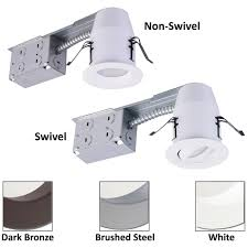 3 inch led recessed lighting lighting inch recessed lighting led retrofit kit3 gimbal ic rated3