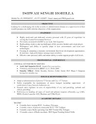 Resume Samples Security Guard by Cv Resume Example Haadyaooverbayresort Com