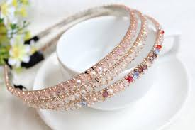 rhinestone bands korean headdress diy rhinestone hair bands headband korea