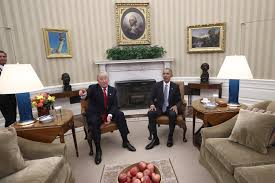 trump or obama who decorated the oval office better