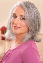 20 Best Grey Hair Images On Pinterest Gray Hairstyles Grey