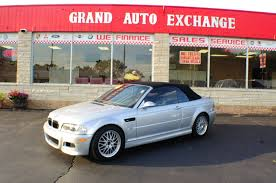 2006 bmw m3 convertible manual silver used car sale