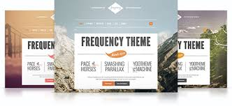 frequency theme yootheme