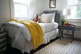 Arhaus Area Rugs Side Table Arhaus Linen Tufted Bed Mirrored Nightstand Target