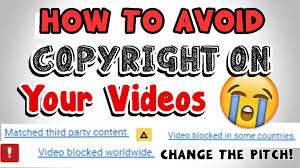 how to avoid copyright on your videos easy youtube
