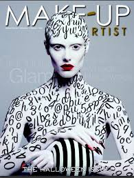 Makeup Schools In Phoenix Roshar Cover Of Makeup Artist Magazine Face And Body Paint Art