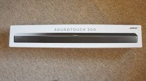 bose soundtouch 300 indicator lights bose soundtouch 300 sound bar opened box in randalstown county