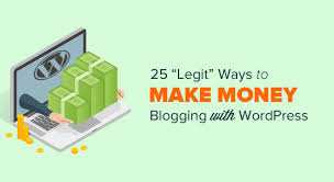 Make Money Online Blogs - struggling to make money online by writing blog posts the