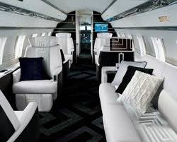 gulfstream interior commissioned by gianni versace