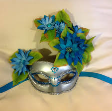mardi gras wall masks handmade masquerade masks with flower festival mask mardi gras mask