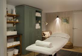 treatment room at watergate bay hotel cornwall