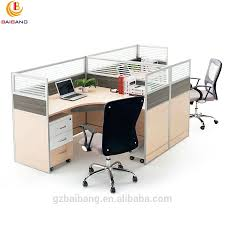 Office Furniture Workstations by 4 Seat Office Workstation Cubicle 4 Seat Office Workstation