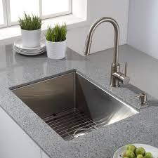 designer kitchen taps modern kitchen with kitchen island and kraus sink also quartz