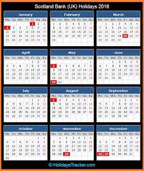 scotland bank uk holidays 2016 holidays tracker