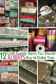 Crafters Supply 12 Craft Supply Items To Always Buy At Dollar Tree