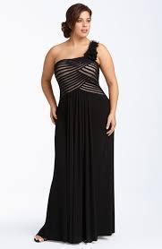 plus size dress black tie affair clothing for large ladies