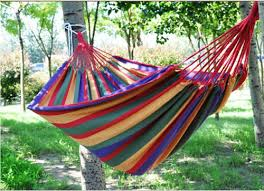 size 190 150cm outdoor camping canvas tree hammock swing bed