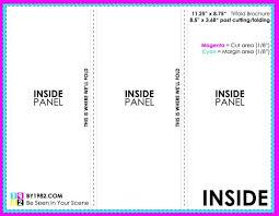 fold brochure template hp tri fold brochure template template for hp tri fold brochure