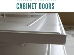 best paint finish for kitchen cabinets how to get a smooth finish painting cabinet doors