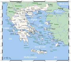 Map Of Greece by List Of Twin Towns And Sister Cities In Greece Wikipedia