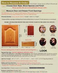 Where To Buy Kitchen Cabinets Doors Only by Measuring U0026 Installing Your Cabinet Doors Eclectic Ware