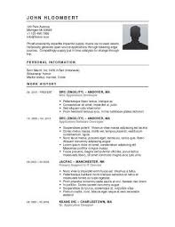 resume template simple simple resume templates general ideas simple format detail